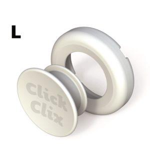 ClickClix L Weiß